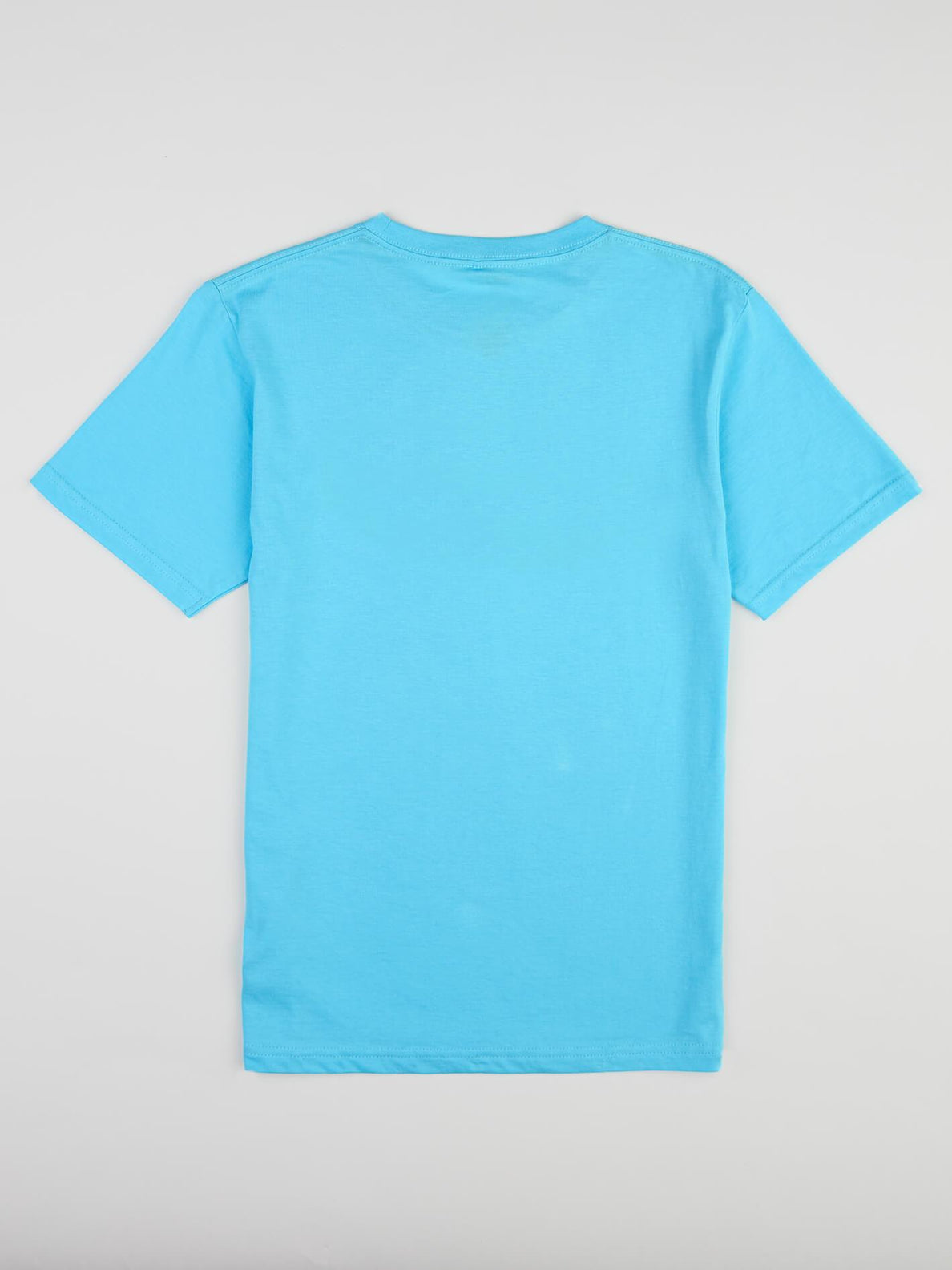Big Boys Fracture Tee In Aqua, Back View