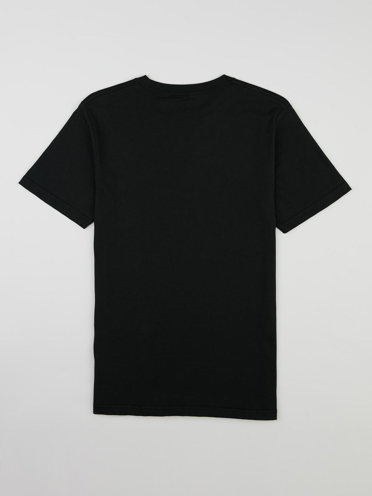 Big Boys Fracture Tee In Black, Back View
