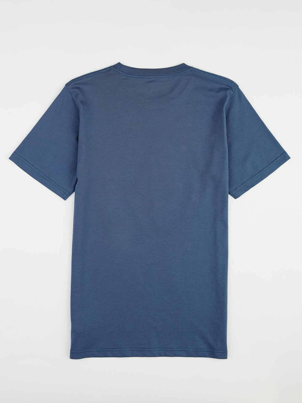 Big Boys Classic Stone Tee In Deep Blue, Back View