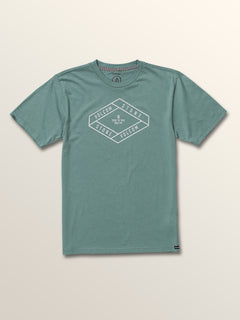 Big Boys Post It Short Sleeve Tee In Pine, Front View