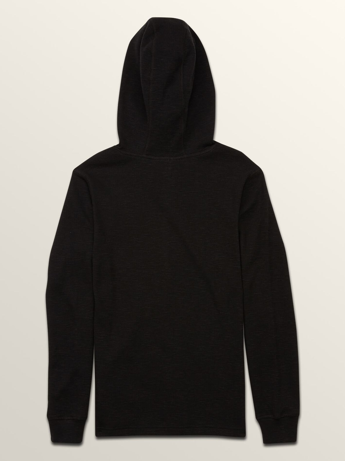 Big Boys Murphy Thermal In Black, Back View