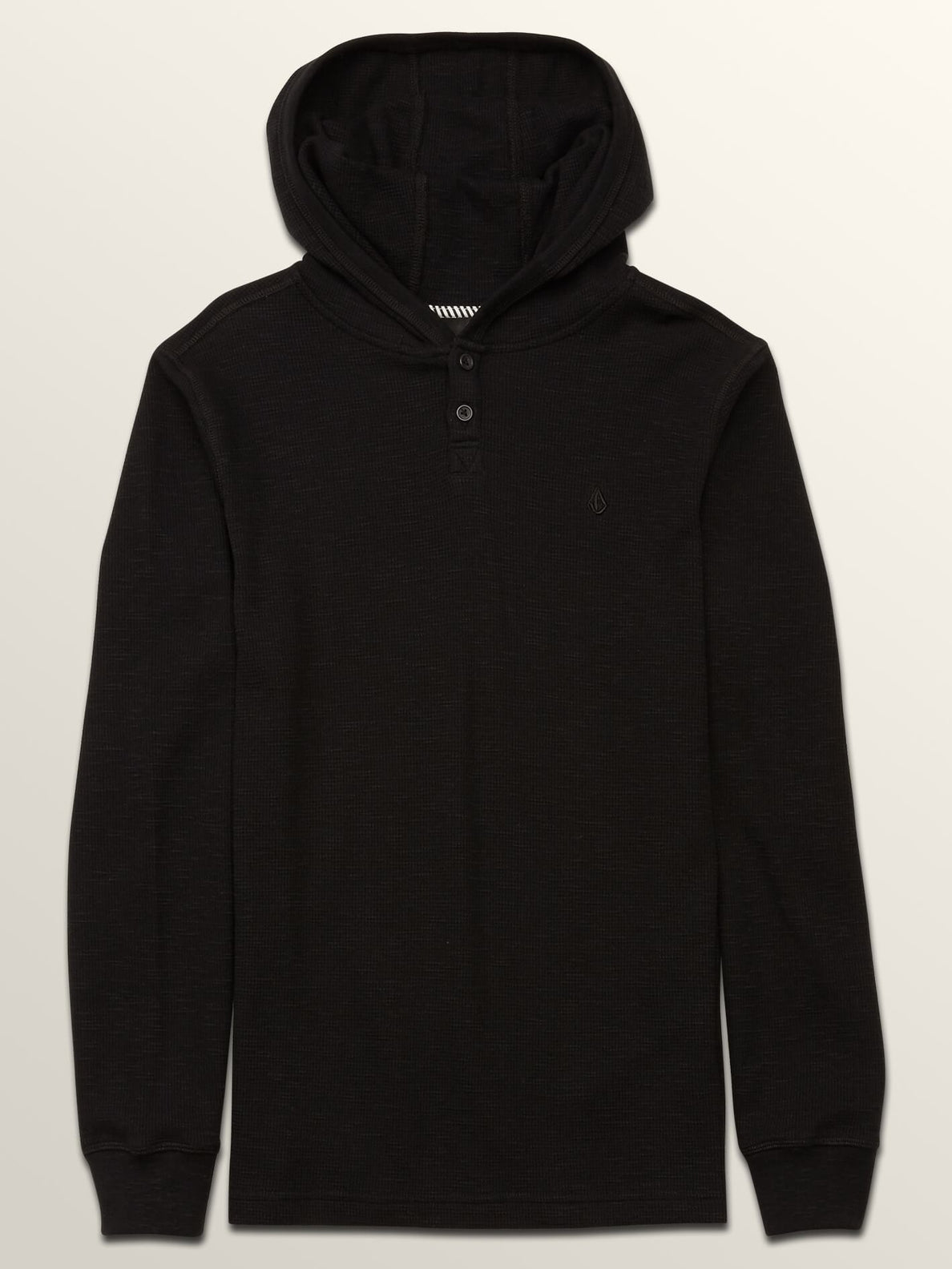Big Boys Murphy Thermal In Black, Front View