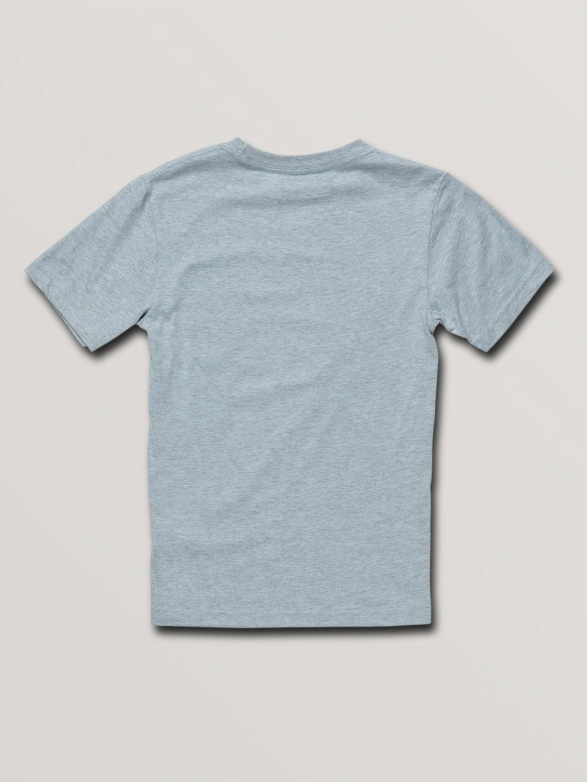 Big Boys Chop Around Short Sleeve Tee In Arctic Blue, Back View
