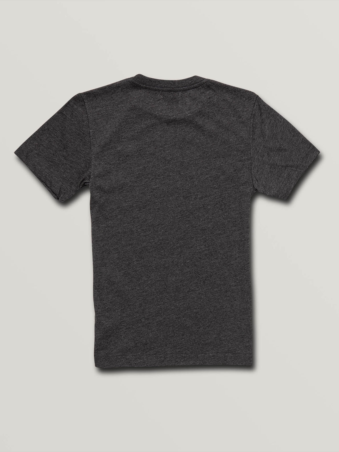 Big Boys Chop Around Short Sleeve Tee In Heather Black, Back View