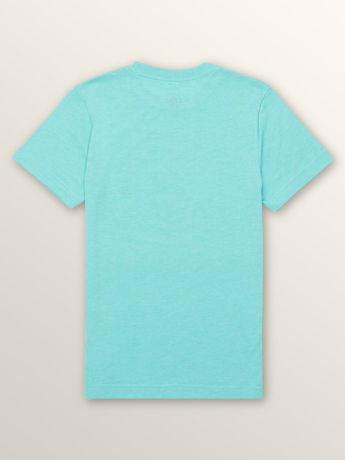 Big Boys Statiq Short Sleeve Tee In Turquoise, Back View