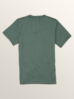 Big Boys Heather Pocket Short Sleeve Tee In Pine, Back View