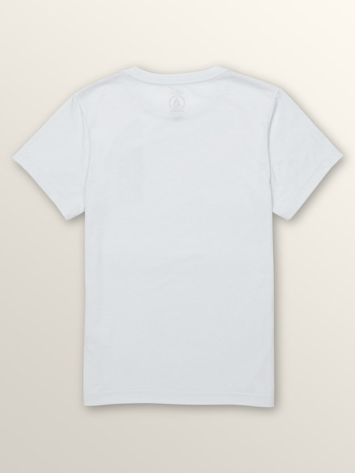Big Boys Extend Short Sleeve Tee In White, Back View