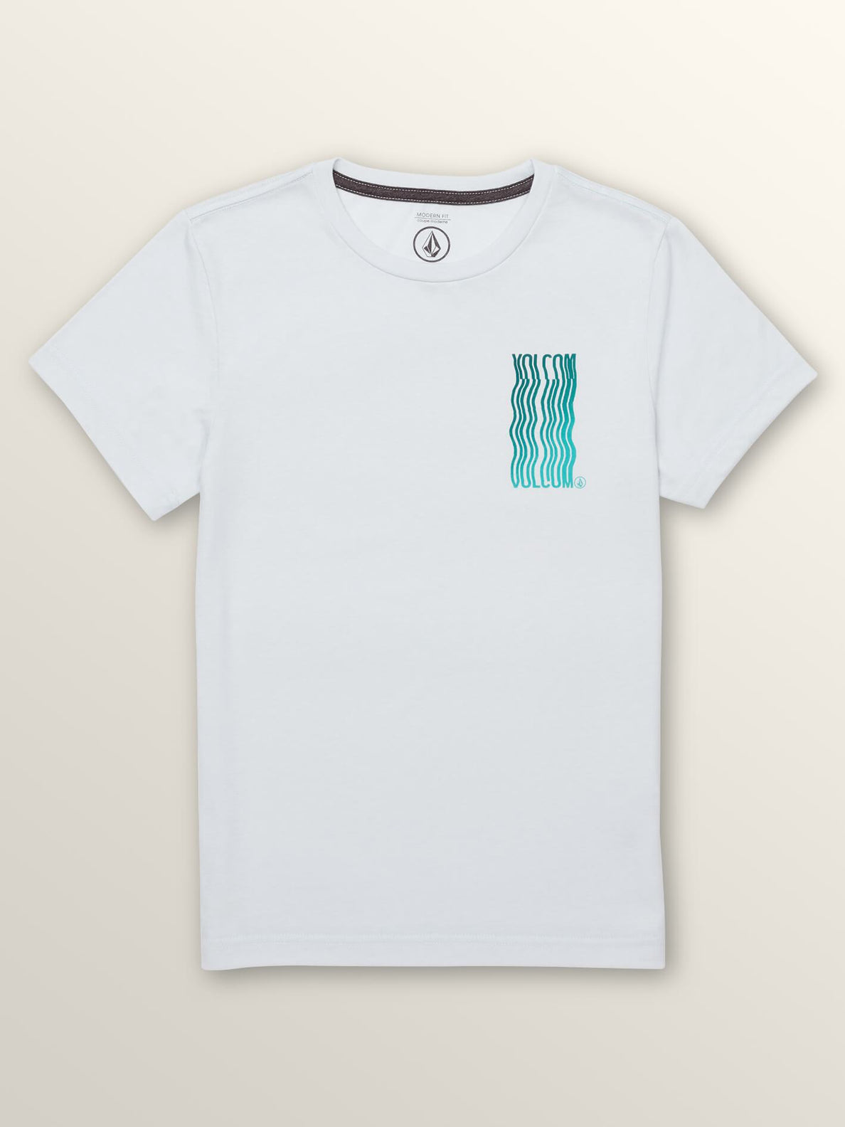 Big Boys Extend Short Sleeve Tee In White, Front View