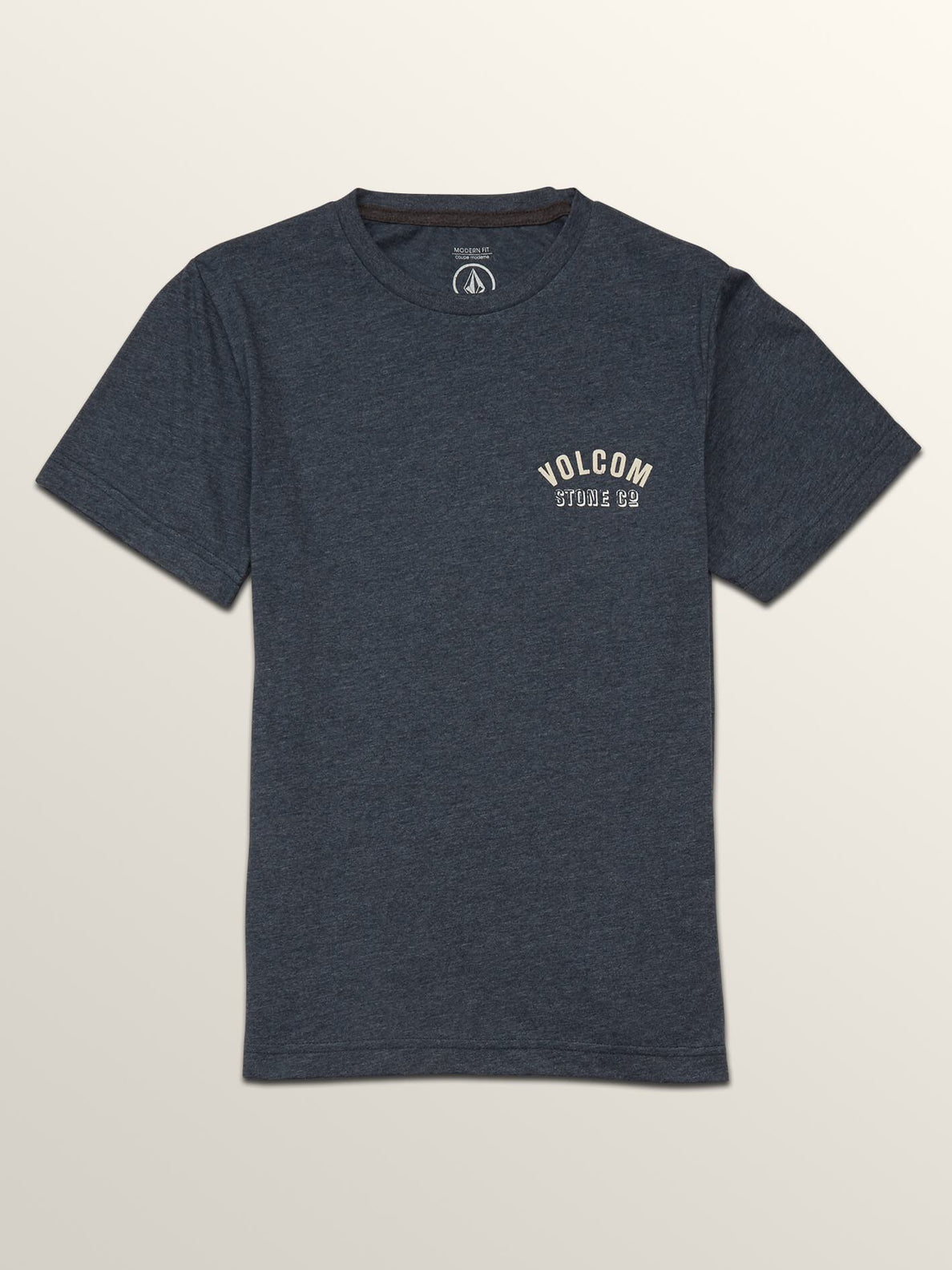 Big Boys Safe Bet Short Sleeve Tee In Navy, Front View