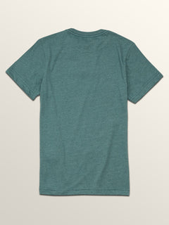 Big Boys Line Tone Short Sleeve Tee In Pine, Back View