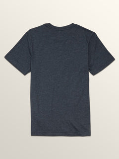 Big Boys Macaw Short Sleeve Pocket Tee In Navy, Back View