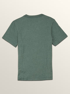 Big Boys Macaw Short Sleeve Pocket Tee In Pine, Back View