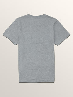 Big Boys Mezo Short Sleeve Pocket Tee In Arctic Blue, Back View