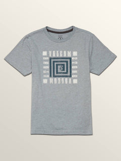Big Boys Mezo Short Sleeve Pocket Tee In Arctic Blue, Front View