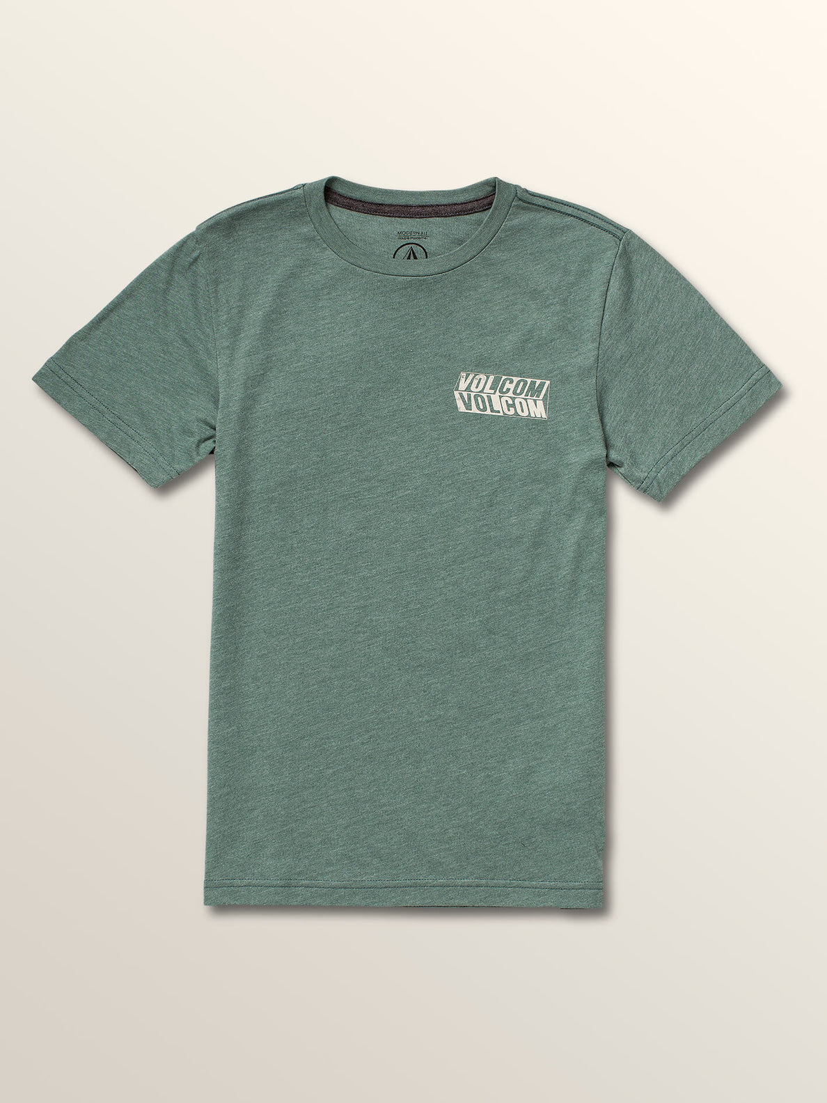 Big Boys Bend Short Sleeve Tee In Pine, Front View
