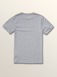 Big Boys Cycle Stone Short Sleeve Tee In Arctic Blue, Back View