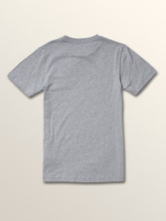 Big Boys Opbar Short Sleeve Tee In Arctic Blue, Back View