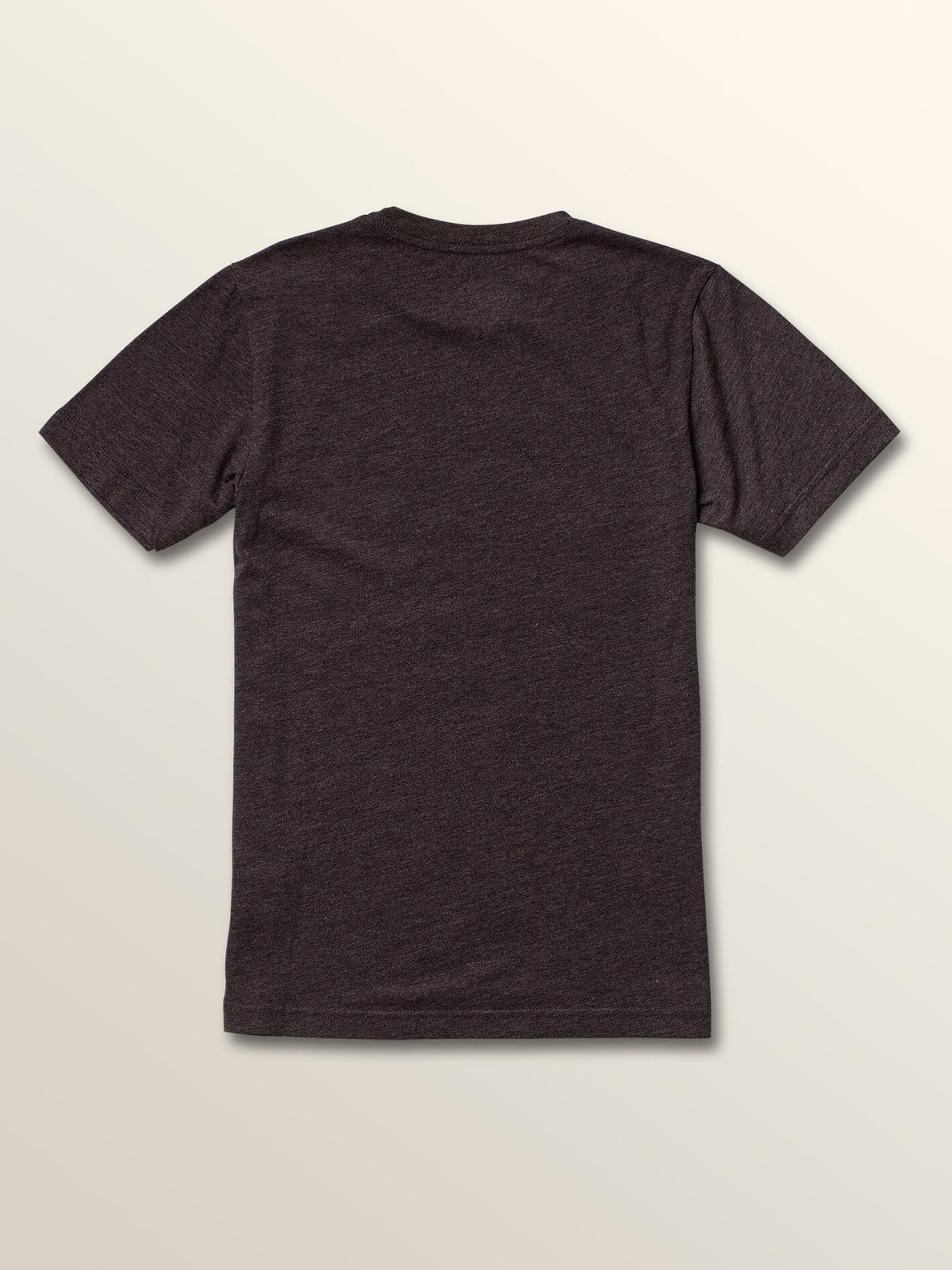 Big Boys Opbar Short Sleeve Tee In Heather Black, Back View