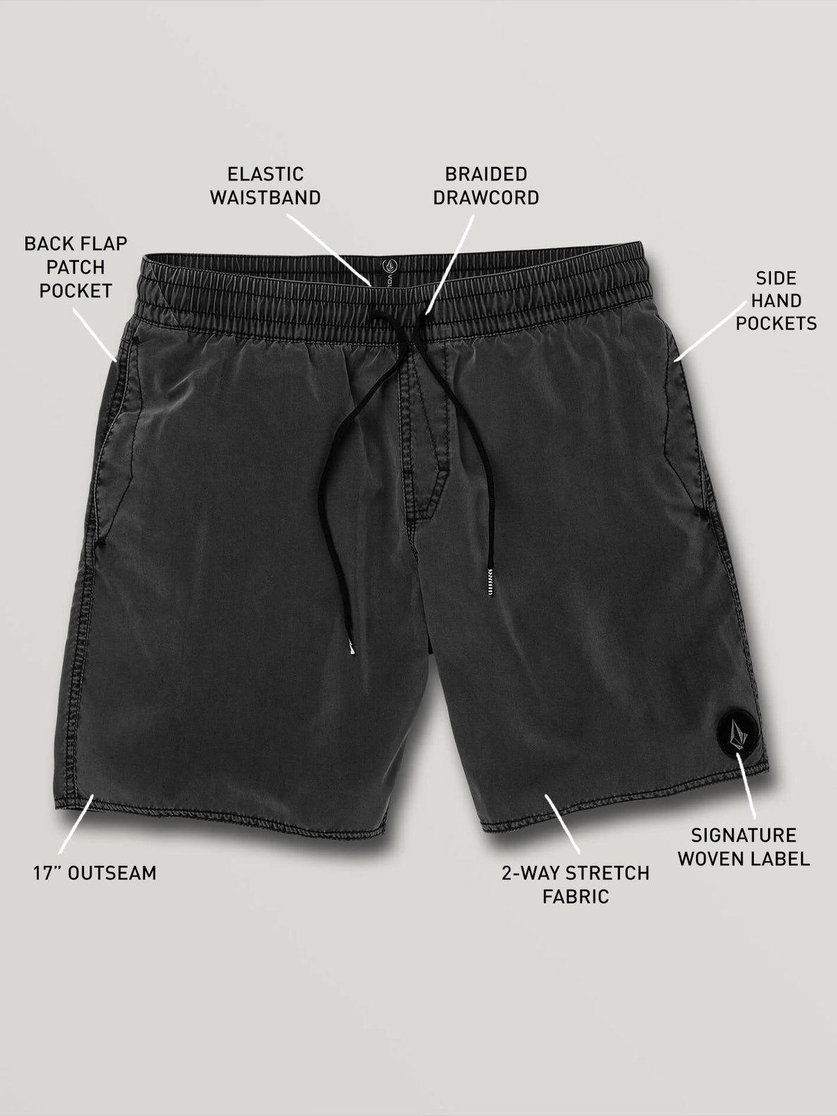 Center Trunks - Black