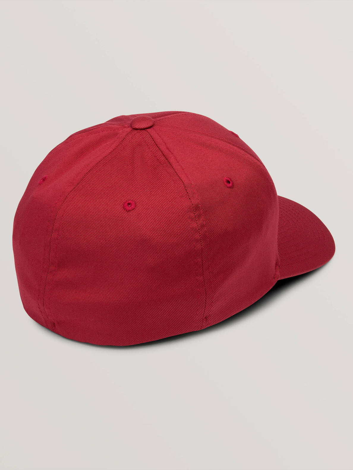 Full Stone Xfit Hat In Burgundy, Back View