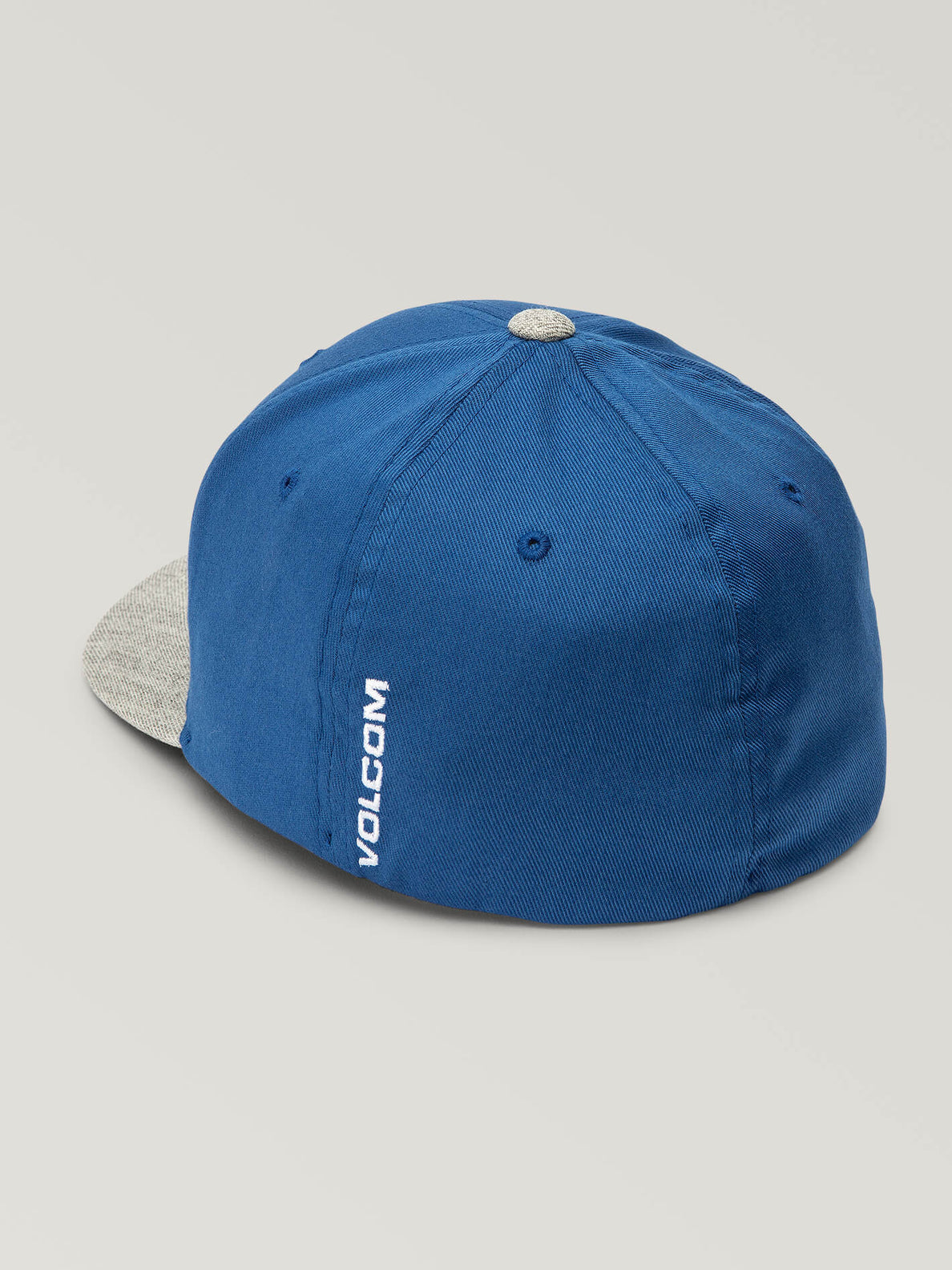 Full Stone Xfit Hat In Coastal Blue, Back View