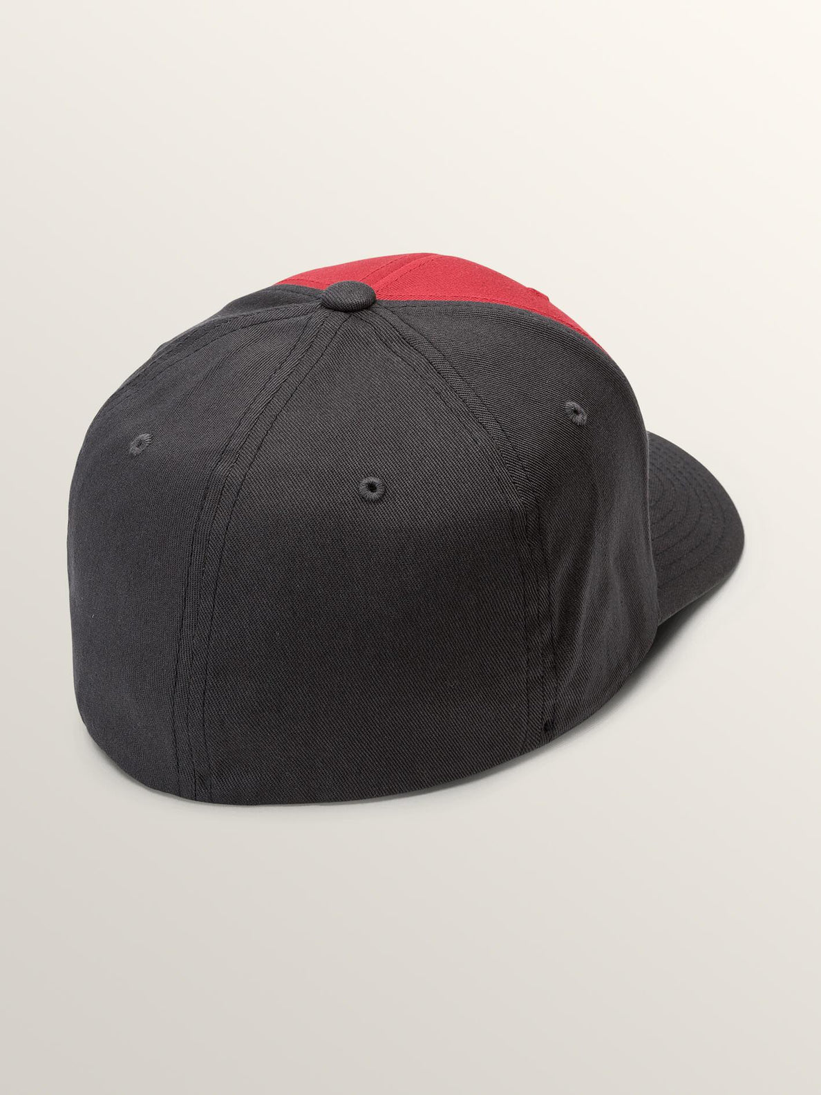 Full Stone Xfit Hat In Engine Red, Back View