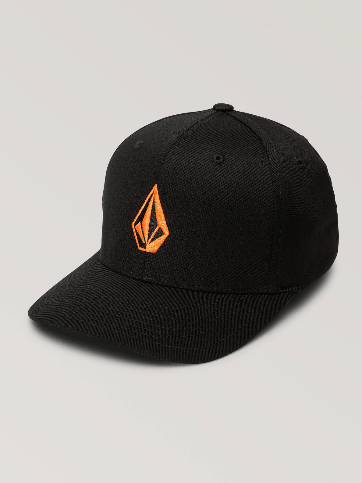 Full Stone Xfit Hat In Fusion Orange, Front View