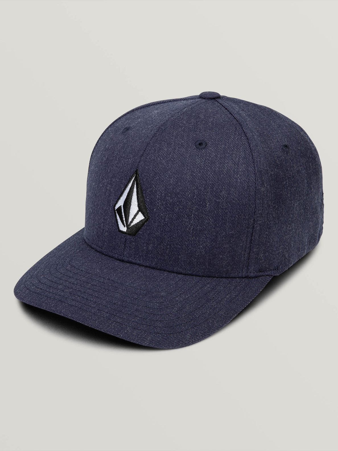 Full Stone Xfit Hat In Navy Heather, Front View