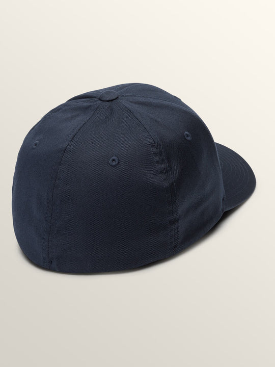 Full Stone Xfit Hat In Navy, Back View