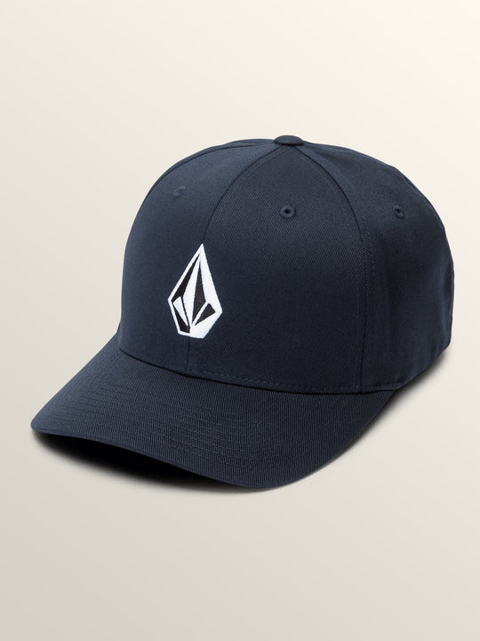 Full Stone Xfit Hat In Navy, Front View