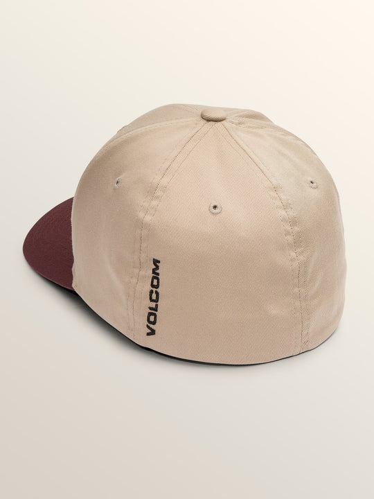 Full Stone Xfit Hat In Sand Brown, Back View