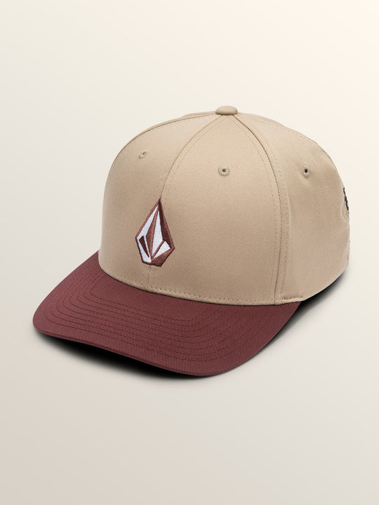 Full Stone Xfit Hat In Sand Brown, Front View