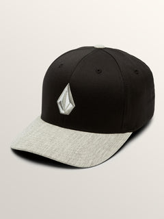Full Stone Xfit Hat In Storm, Front View