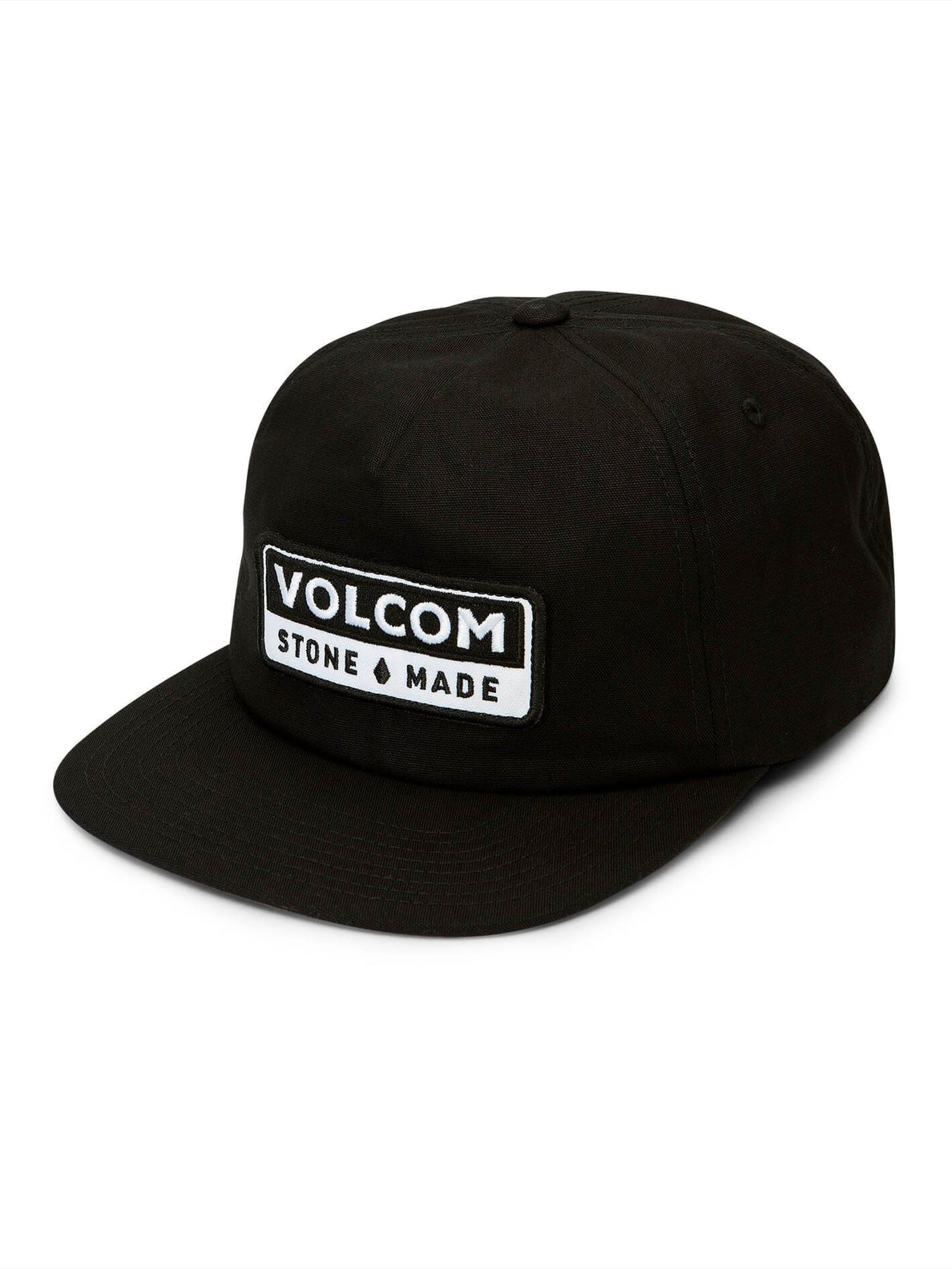 Transporter Hat In Black, Front View