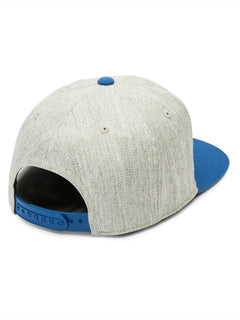 Archer Hat In Camper Blue, Back View