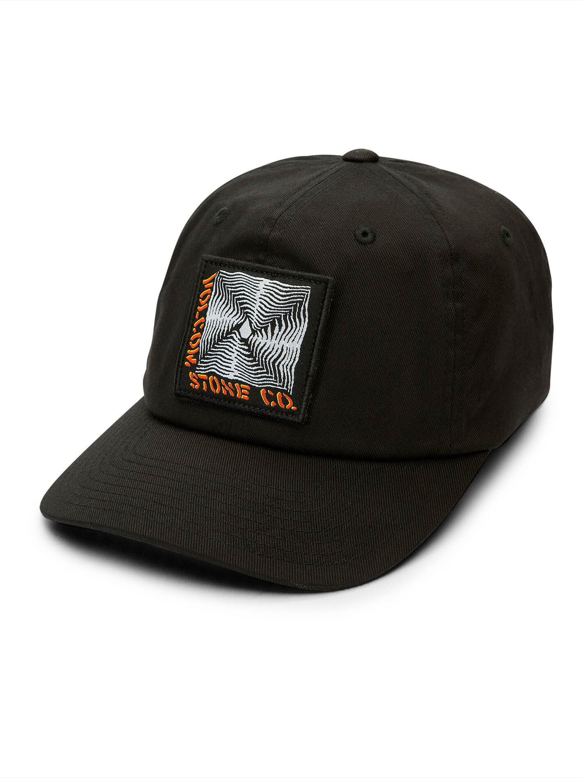 Stone Radiator Xfit Hat In Black, Front View
