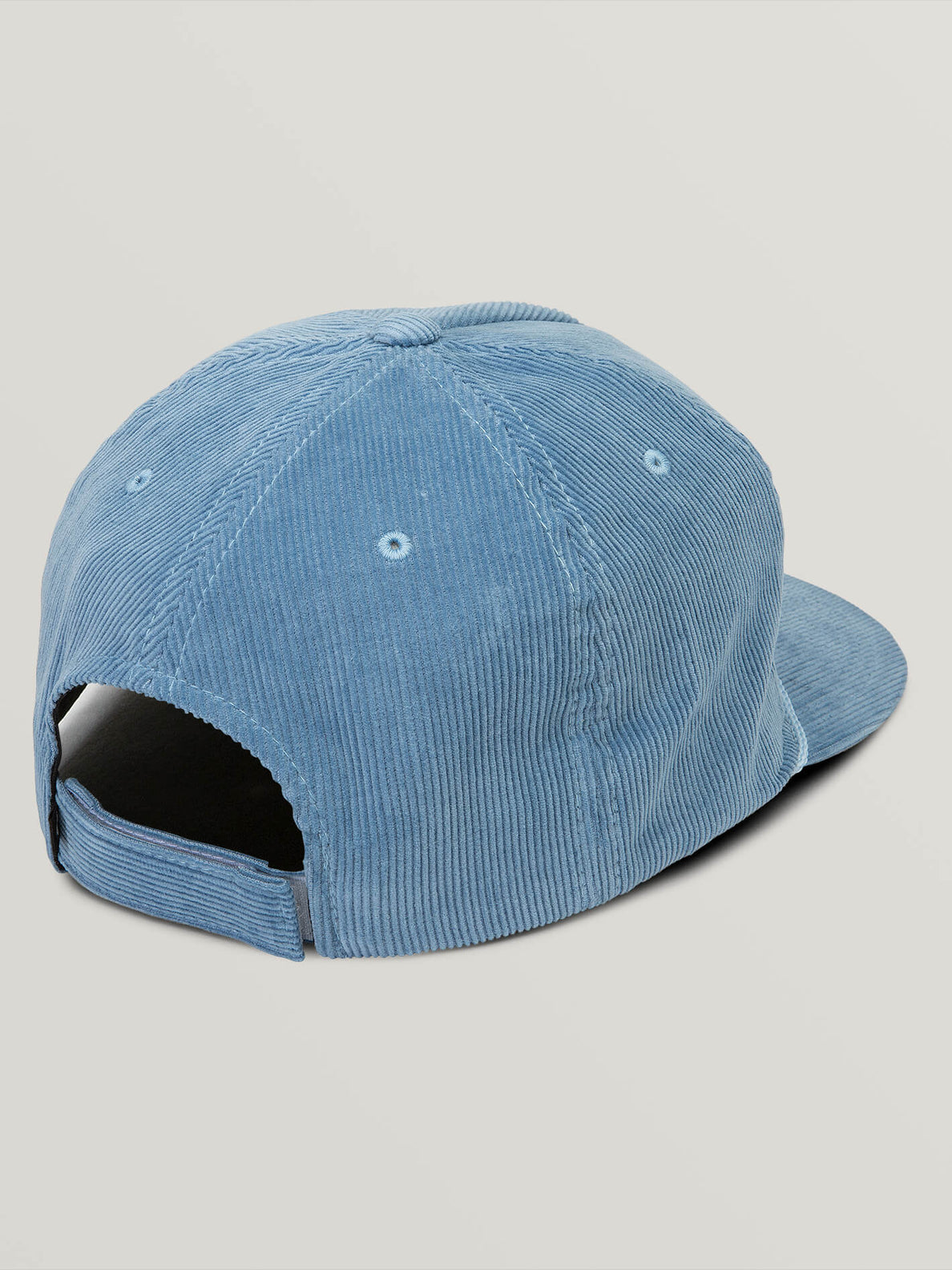 Peace Wing Hat In Vintage Blue, Back View