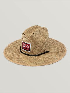 Sunbrerro Hat In Natural, Front View
