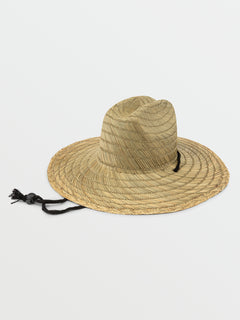 Quarter Straw Hat - Natural (D5521702_NAT) [B]