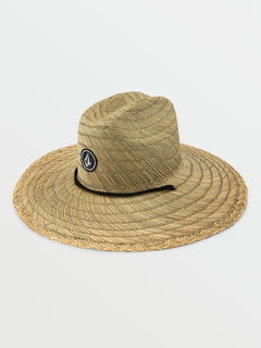 Quarter Straw Hat - Natural (D5521702_NAT) [F]