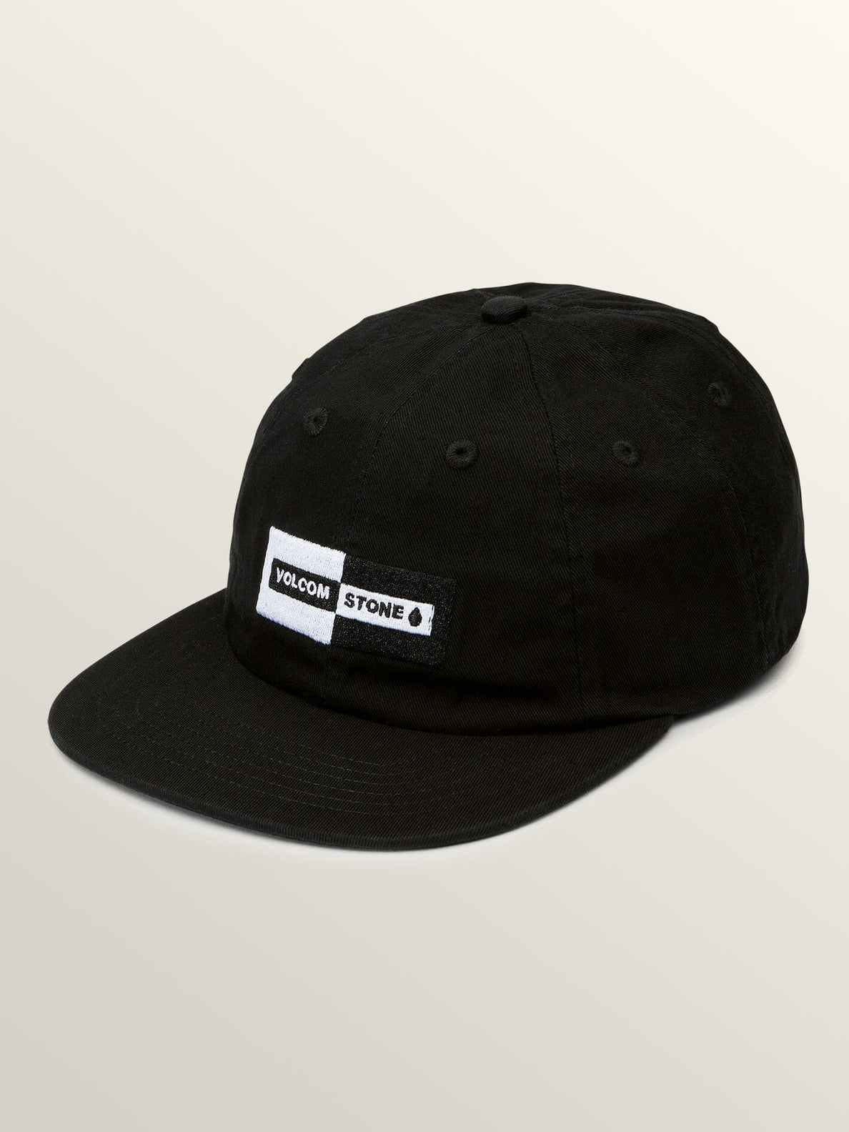 Same Difference Hat In Black, Front View