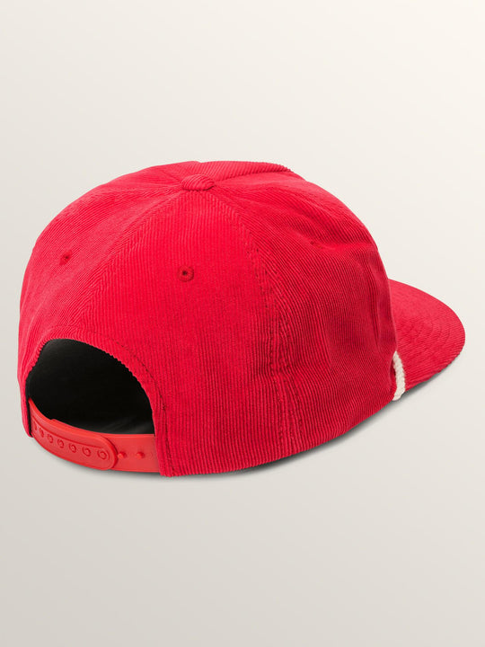 Primo Chug Cap In Spark Red, Back View