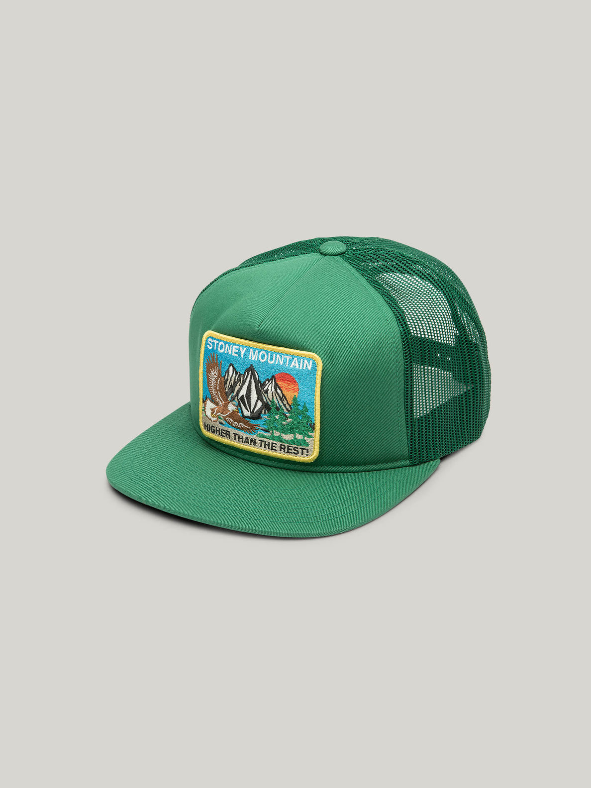 Stoneys Mountain Cheese Hat - Spring Green (D5522006_SPG) [F]
