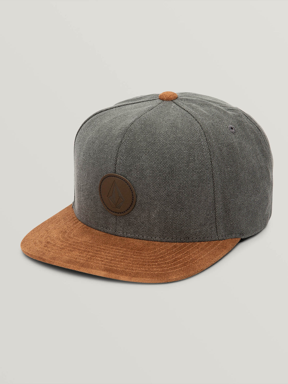Quarter Fabric Hat - Slate Grey