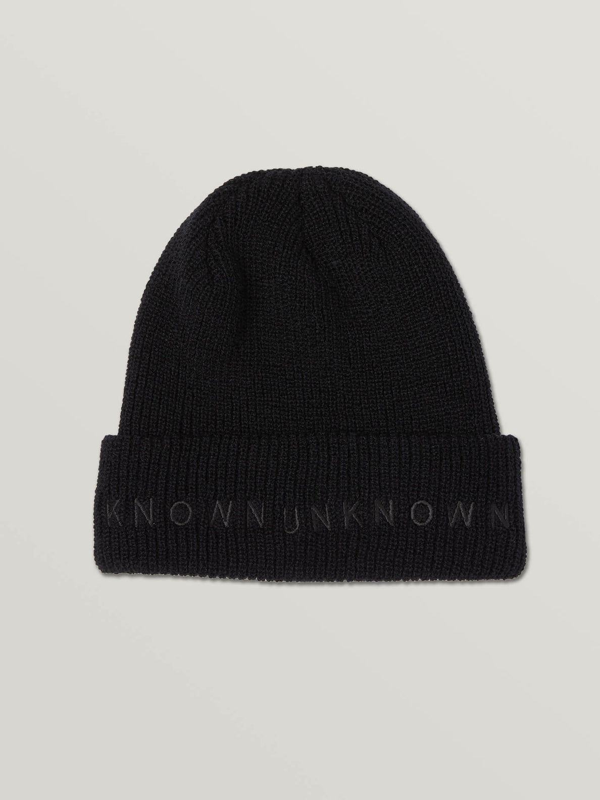 Rogan Gregory X Volcom Known Beanie In Black, Alternate View