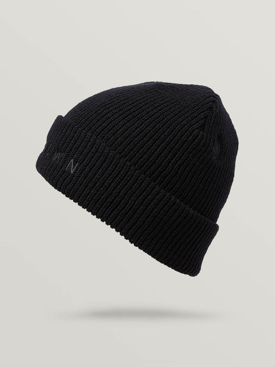 Rogan Gregory X Volcom Known Beanie In Black, Second Alternate View
