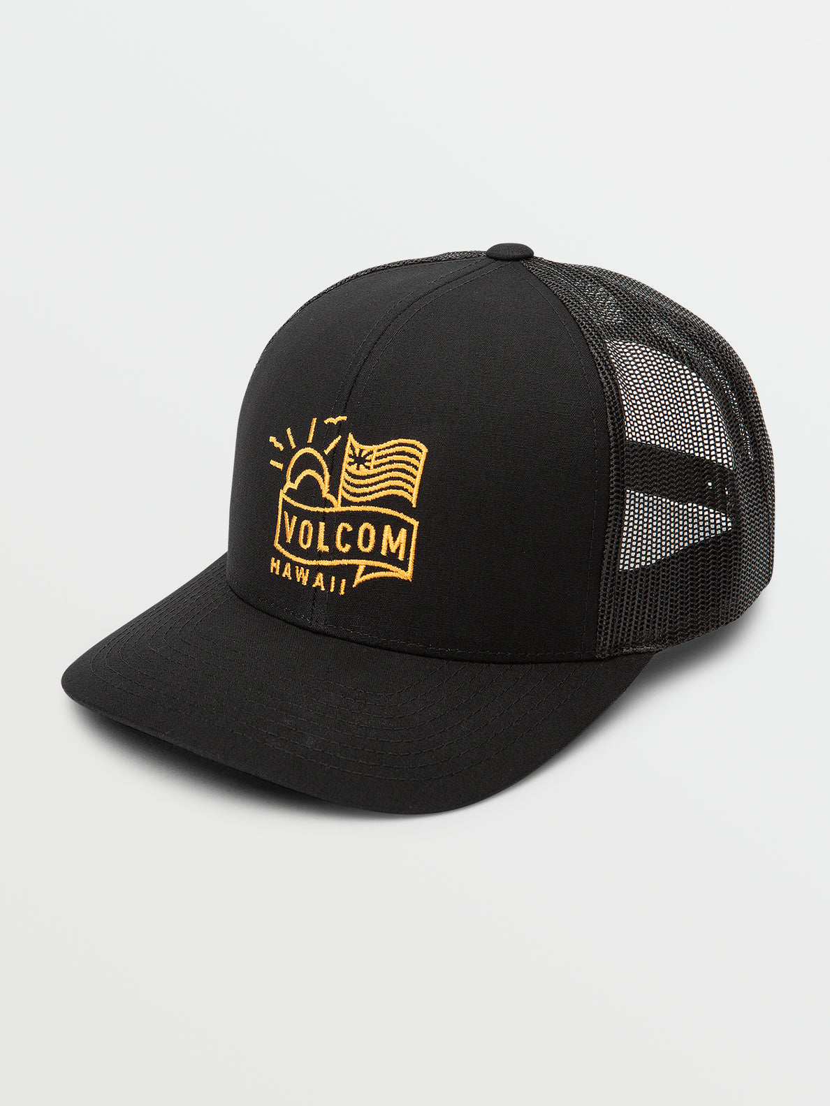 Flyin High Cheese Hat - Black (D55320H0_BLK) [F]