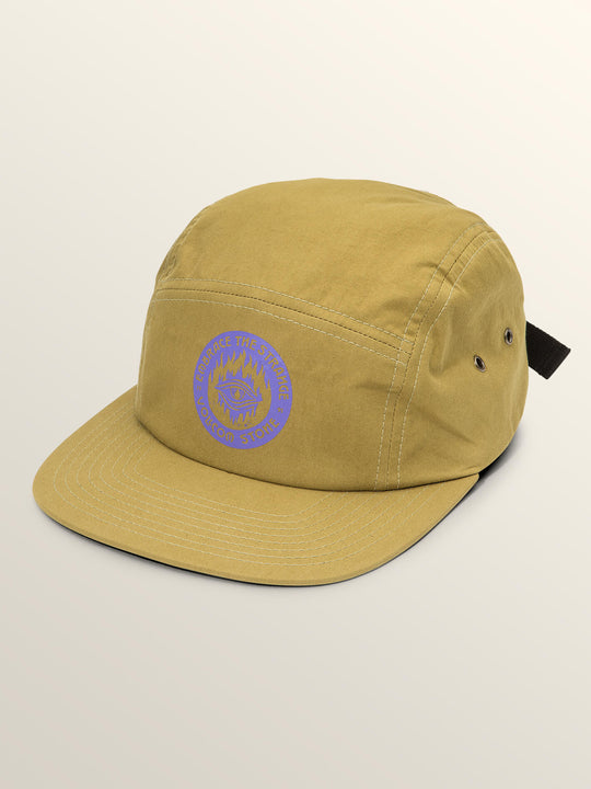 Hot Visions Hat In Olive, Front View
