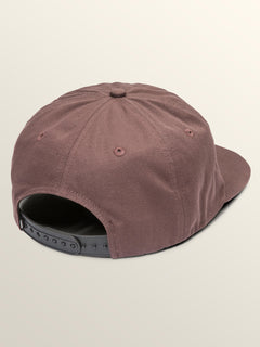 Old Punker Hat In Bordeaux Brown, Back View