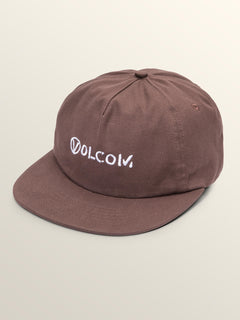 Old Punker Hat In Bordeaux Brown, Front View